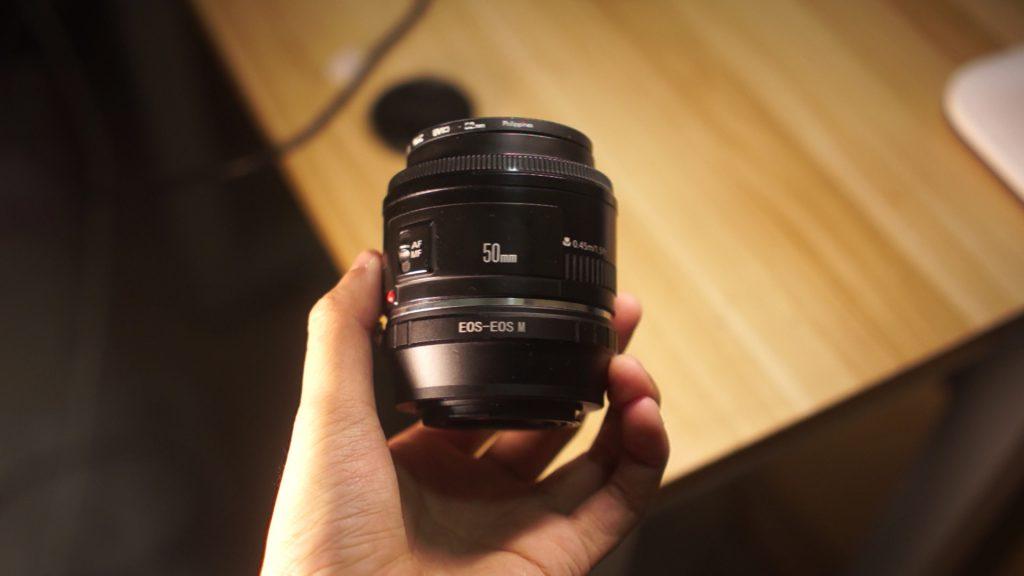 佳能EOS镜头50f1.8